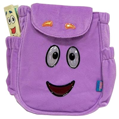 Dora the Explorer Backpack Rescue Bag, Purple: Toys & Games
