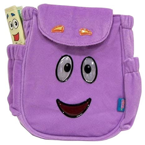 Dora Plush Backpack With Map on