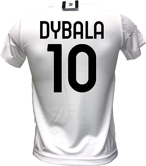 DND DI DANDOLFO CIRO Maglia bianconera Home Dybala 10 Joya Ufficiale Autorizzata 2020-2021 Taglie da Adulto e Bambino