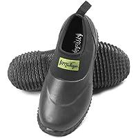 Michigan - Chaussures imperméables à Enfiler - en néoprène - pour Le Jardin/la Boue/l'extérieur - Noir