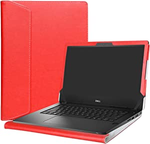 """Alapmk Protective Case For 14"""" Dell Latitude 14 3480 3488 3490/inspiron 14 3480 3481 3482/Vostro 14 3480 Laptop(Warning:Not fit Latitude 14 3470 3460 /inspiron 14 3473/ Vostro 14 3476),Red"""