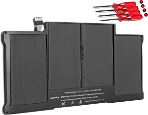 New Laptop Battery Replacement for Apple MacBook Air 13 inch A1466(Early 2017,Early 2015, Early 2014, Mid 2013,Mid 2012) A1369(Late 2010, Mid 2011 Version), fits A1405 A1496 A1377