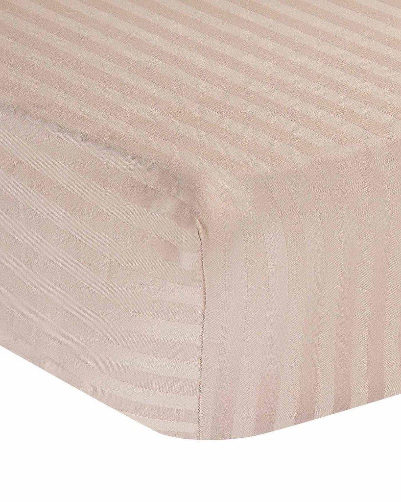Ras飾りリネン上質コットン16インチ深いポケット1ピースフィットsheet-premium品質長繊維fiber-breathable-durable-comfortable-sateen weave-natural、ソフト。 California King RA-F-1P-521   B073LPXS88