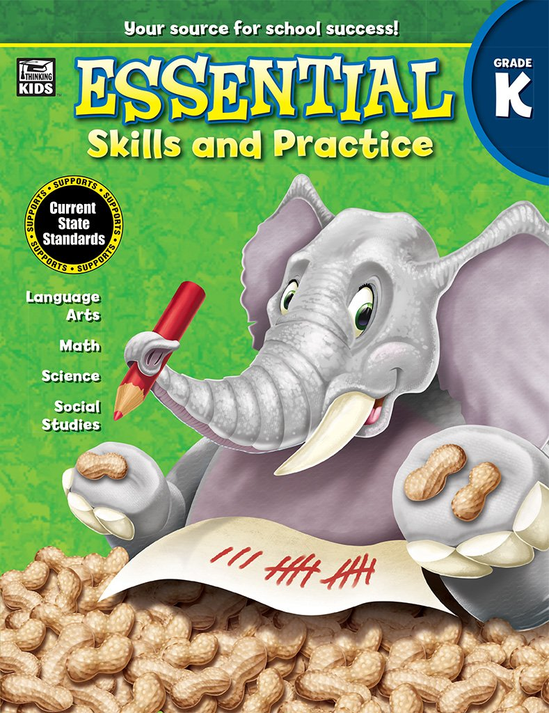 Read Online Essential Skills and Practice, Grade K pdf