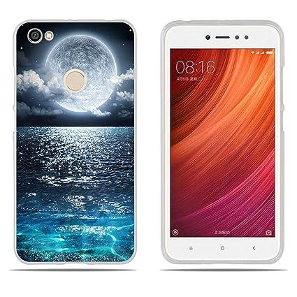 Funda Xiaomi Redmi Note 5A Prime, DIKAS 3D Silicona Transparente Carcasas TPU Gel [Ultra Fina] [Protección a Bordes y Cámara] [ Anti-Rasguño] Enjaca ...