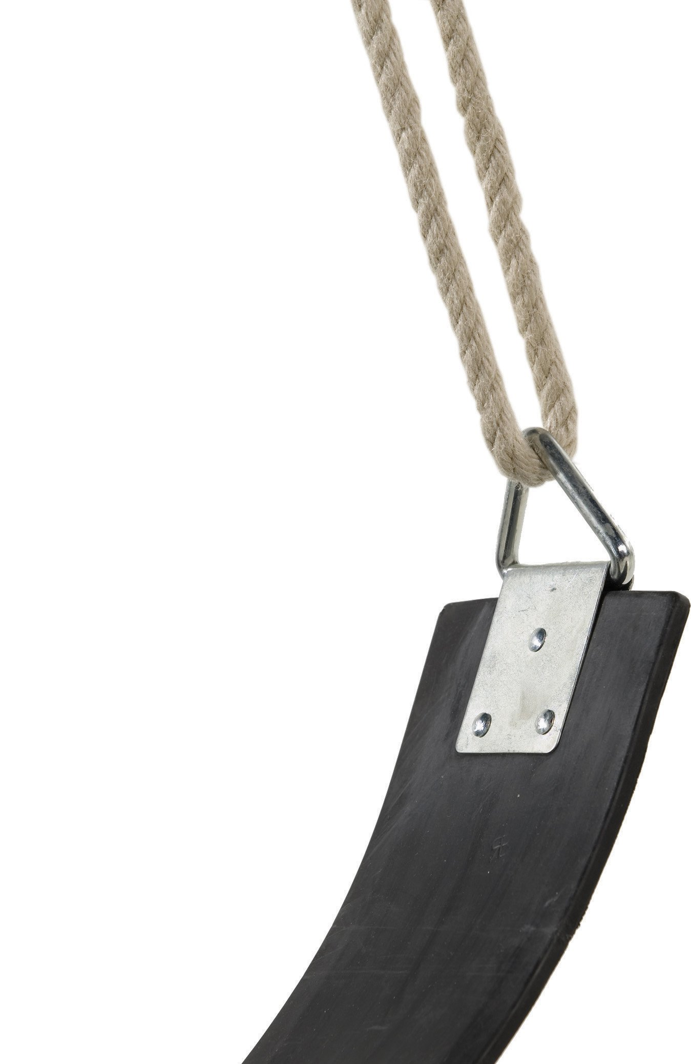Coast Athletic Commercial Grade Heavy Duty Swing Seat | Heavy Duty Playground Swing Seats (Black)