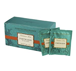 Fortnum and Mason British Tea, Fortmason Blend, 25 Count Teabags (1 Pack)
