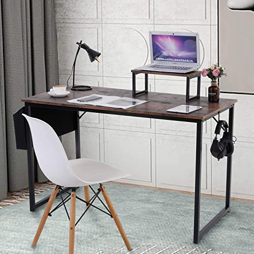 Dryadalis Computer Desk 47.2″ Modern Simple Style PC Table