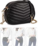 Fashion Waist Bags for Women Adjustable Waterproof Crossbody Satchel Bag Bumbag