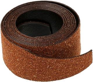 MagiDeal Canne à Pêche Wrap Tie Tackle Cuir Bandeau Fixation Sangle Ceinture Bande Sueur Raquette Accessoires 115 x 25 cm