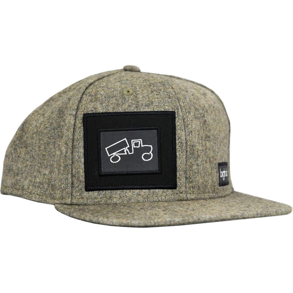 Light Grey bigtruck Original Mesh Snapback Baseball Cap