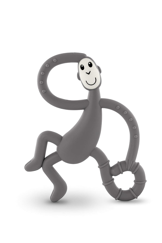 Streichholz Monkey tanzender Affe Zahnen Spielzeug grau