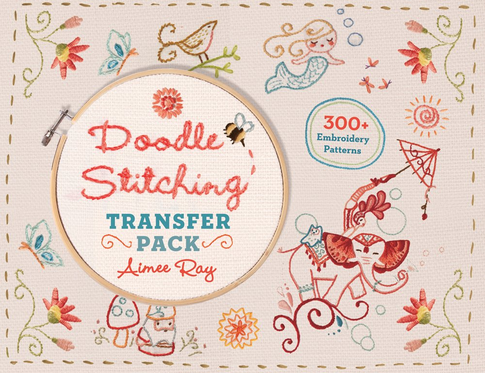 Doodle Stitching Transfer Pack 300 Embroidery Patterns Amazon
