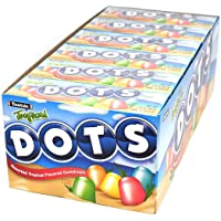 Tropical Dots Assorted Fruit Candy, 24 2.2-Oz. Boxes