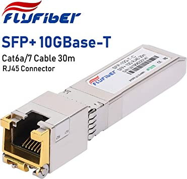 to RJ45 Copper Module 10GBase-T Transceiver Ubiquiti up to 30m in US New SFP