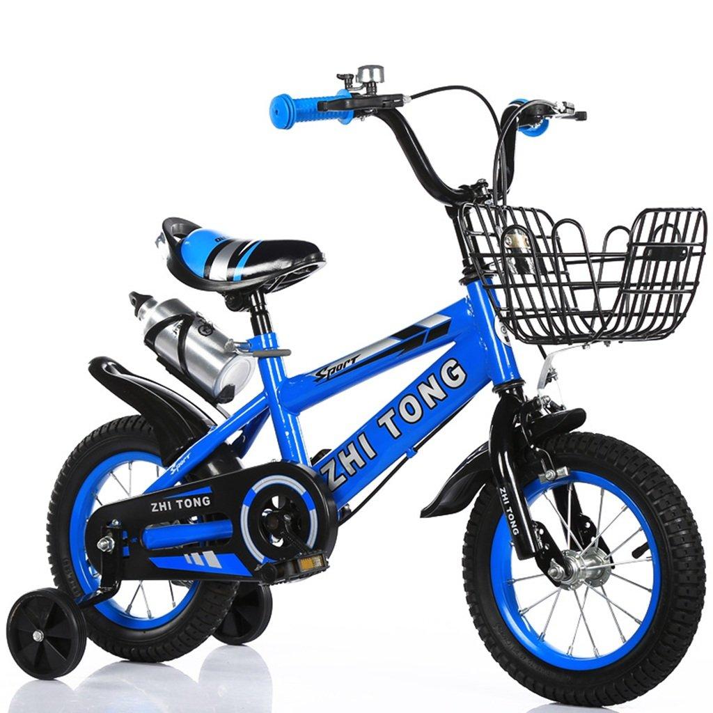 子供の自転車、カップの補助ホイールと自転車の少女プリンセス自転車多機能クリエイティブ自転車の長さ88-121CM (色 : 青, サイズ さいず : 121CM) B07CWCYD73 121CM 青 青 121CM
