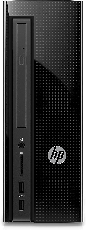 HP Slimline 260-a115nl 1.6GHz J3710 Escritorio Negro PC - Ordenador de sobremesa (1,6 GHz, Intel® Pentium®, J3710, 2,64 GHz, 2 MB, L2)