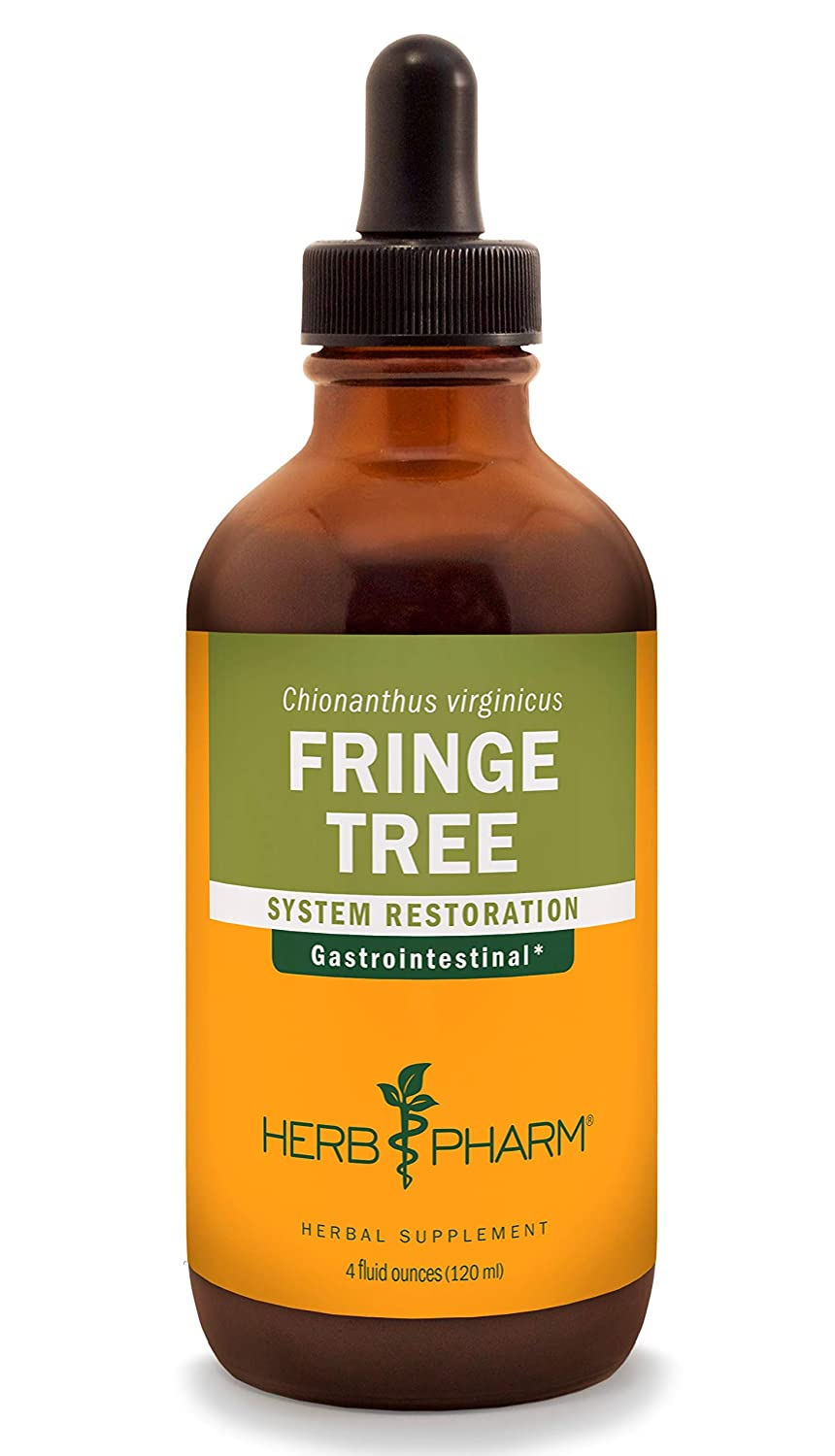 Herb Pharm Fringe Tree Liquid Extract for Digestive System Support – 4 Ounce