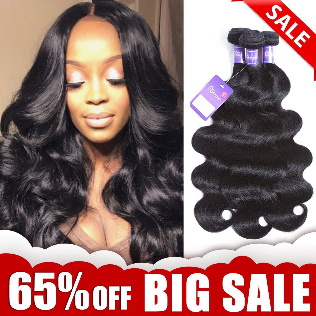 Amazon Brazilian Hair Bundles 141618 Straight Hair 3