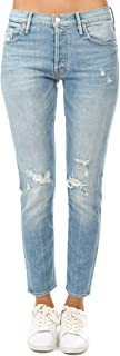 product image for MOTHER Denim The Stinger Destroyed Slim Straight Leg Jeans