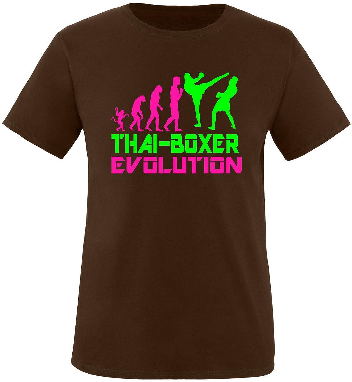 EZYshirt® Thai Boxing Evolution Herren Rundhals T-Shirt: Amazon.de:  Bekleidung