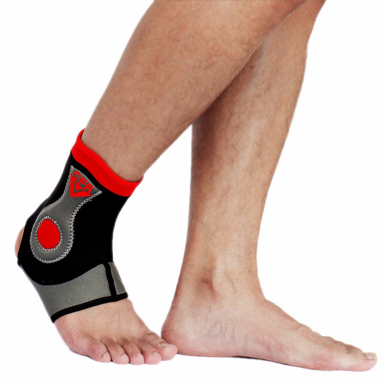 CFR Ankle Support Breathable Ankle Brace for Pain Relief, Sprains, Strains, Arthritis, Torn Tendons Right,XL UPS Post