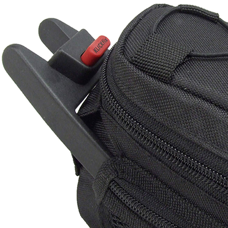 Bolsa para sill/ín Rixen /& Kaul Coutoura Color Negro