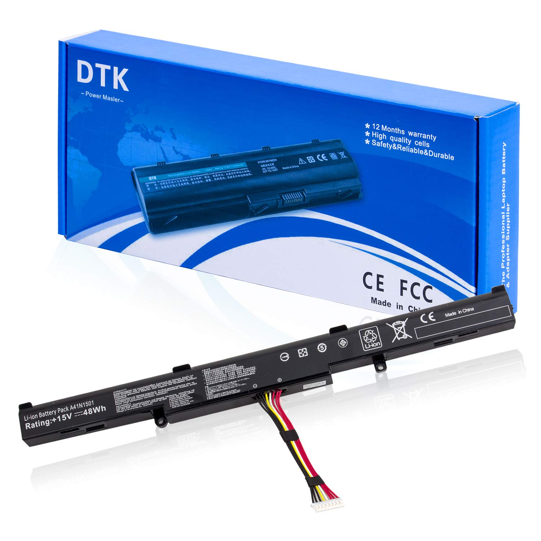 Bateria A41N1501 para ASUS ROG GL752VWM N552V N552VW G752VW