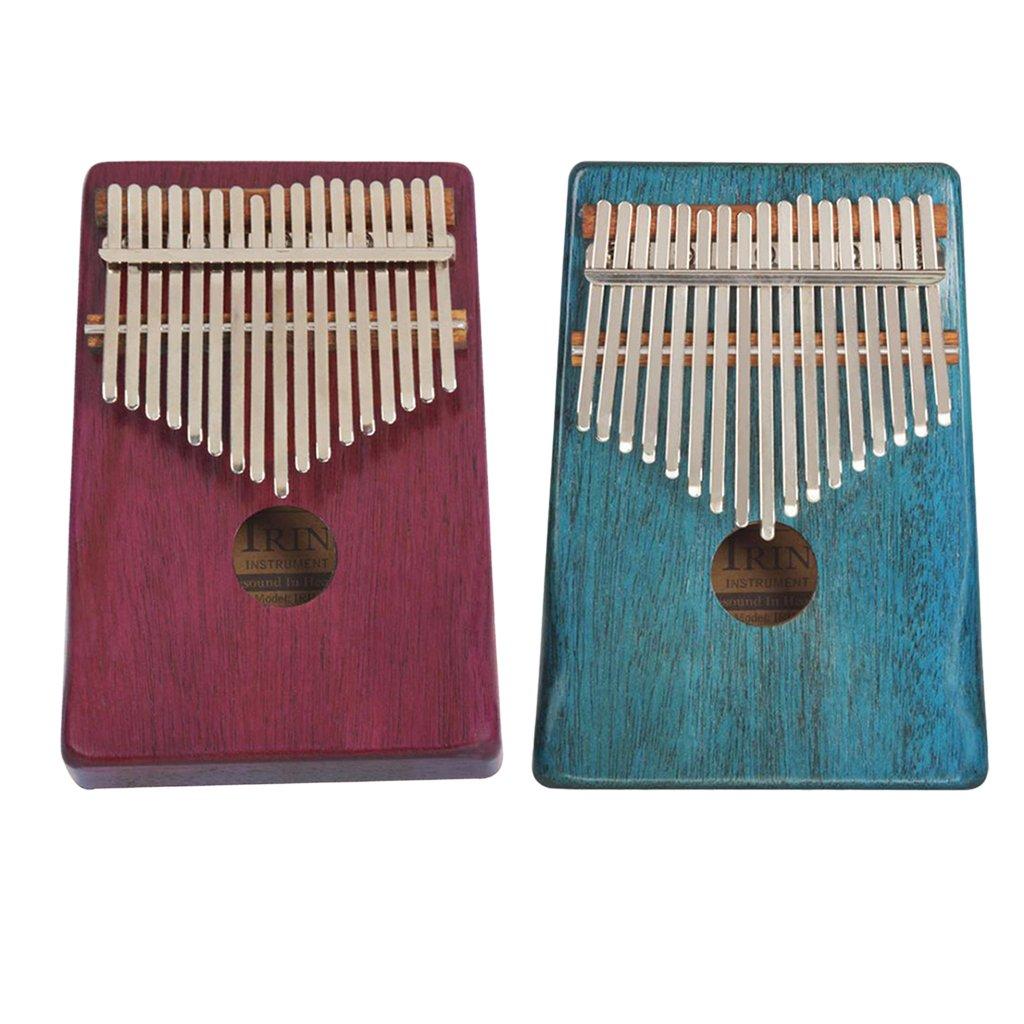 mejor servicio Homyl Kalimba Pianos de Dedo Dedo Dedo Gordo 2 Set 17 Llaves Cocós Cáscaras Instrumentos Musicales  de moda