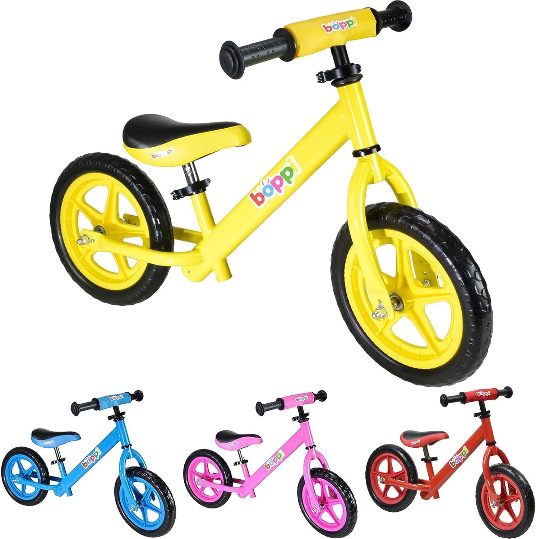 boppi® Bicicleta sin Pedales de Metal para niños de 2-5 años - Amarilla: Amazon.es: Deportes y aire libre