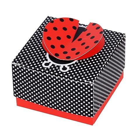 50Pcs Cajas de Papel de Caramelo Dulces Bombones Bautizo Regalos Recuerdos Detalles para Invitados de Boda Fiesta Comunion Decoración Cumpleaños ...