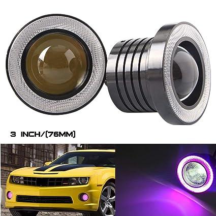 BOTU-TECH - Proyector de luz antiniebla LED para Coche, 2,5/3/3,5 ...