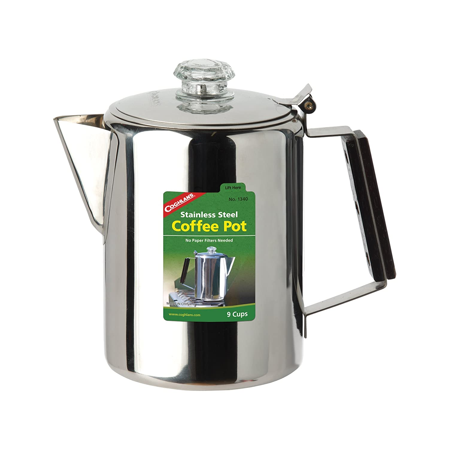 Amazon.com: De Coghlan 9-Cup Acero Inoxidable Cafetera ...