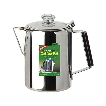 Amazon.com: De Coghlan 9-Cup Acero Inoxidable Cafetera ...