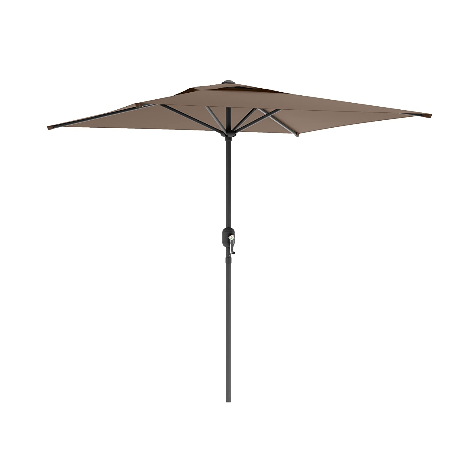 Amazon.com : CorLiving PPU 320 U Square Patio Umbrella, Sandy Brown :  Garden U0026 Outdoor
