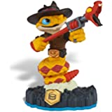 Skylanders SWAP Force Character Rattle Shake (Includes Trading Card and Internet Code, no retail packaging)