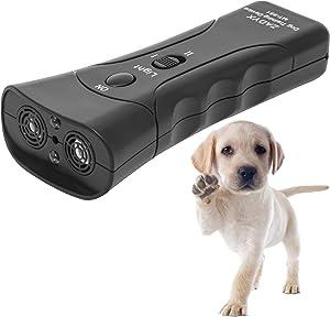 Zadyx Anti Barking Device - Remote Stop Barking Dog Devices - 20 Ft Control Range Ultrasonic Barking Dog Deterrent - Handheld Anti-Barking Dog Training Device