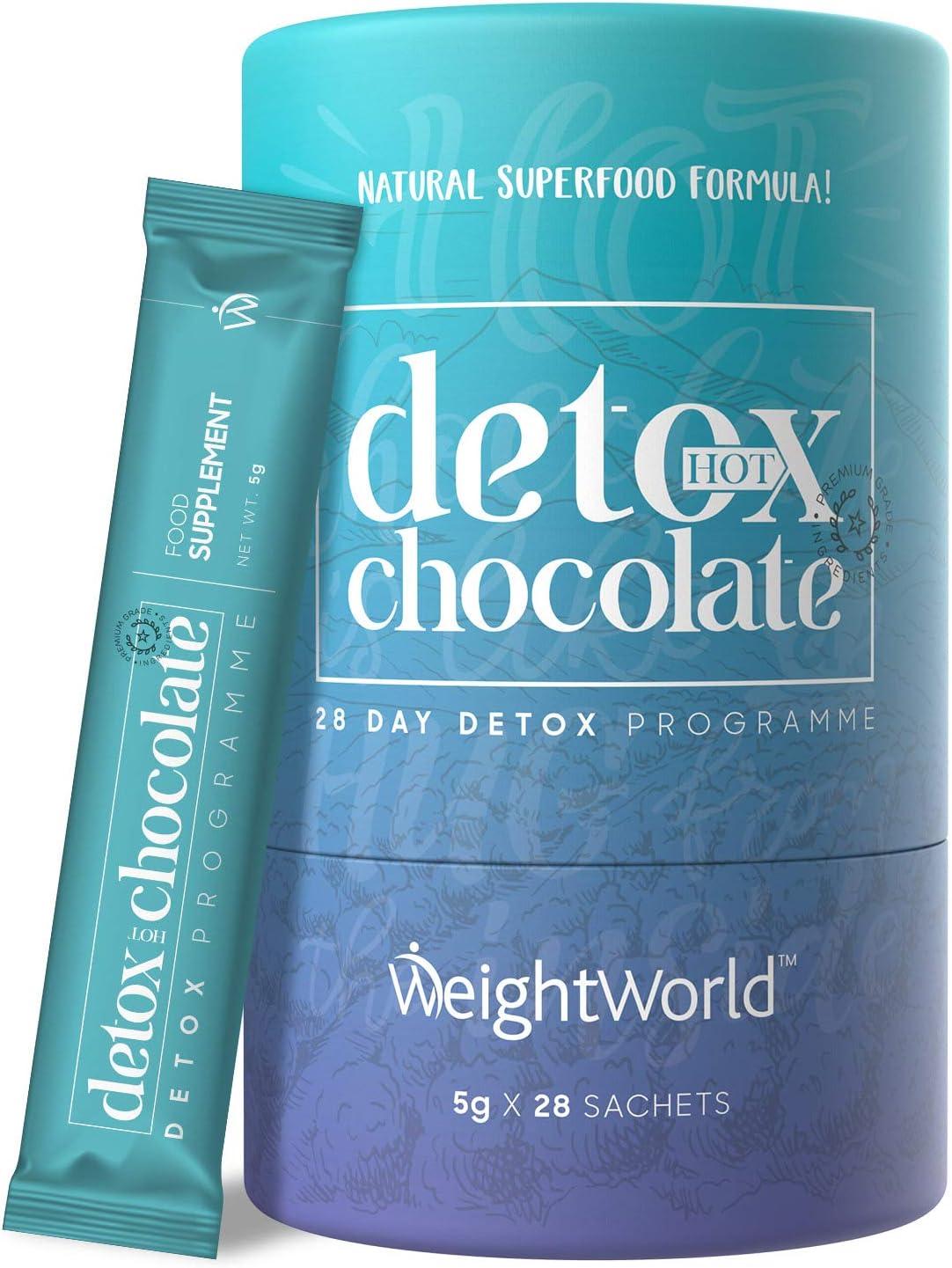 Detox Adelgazante Chocolate Caliente Desintoxicante - Para ...