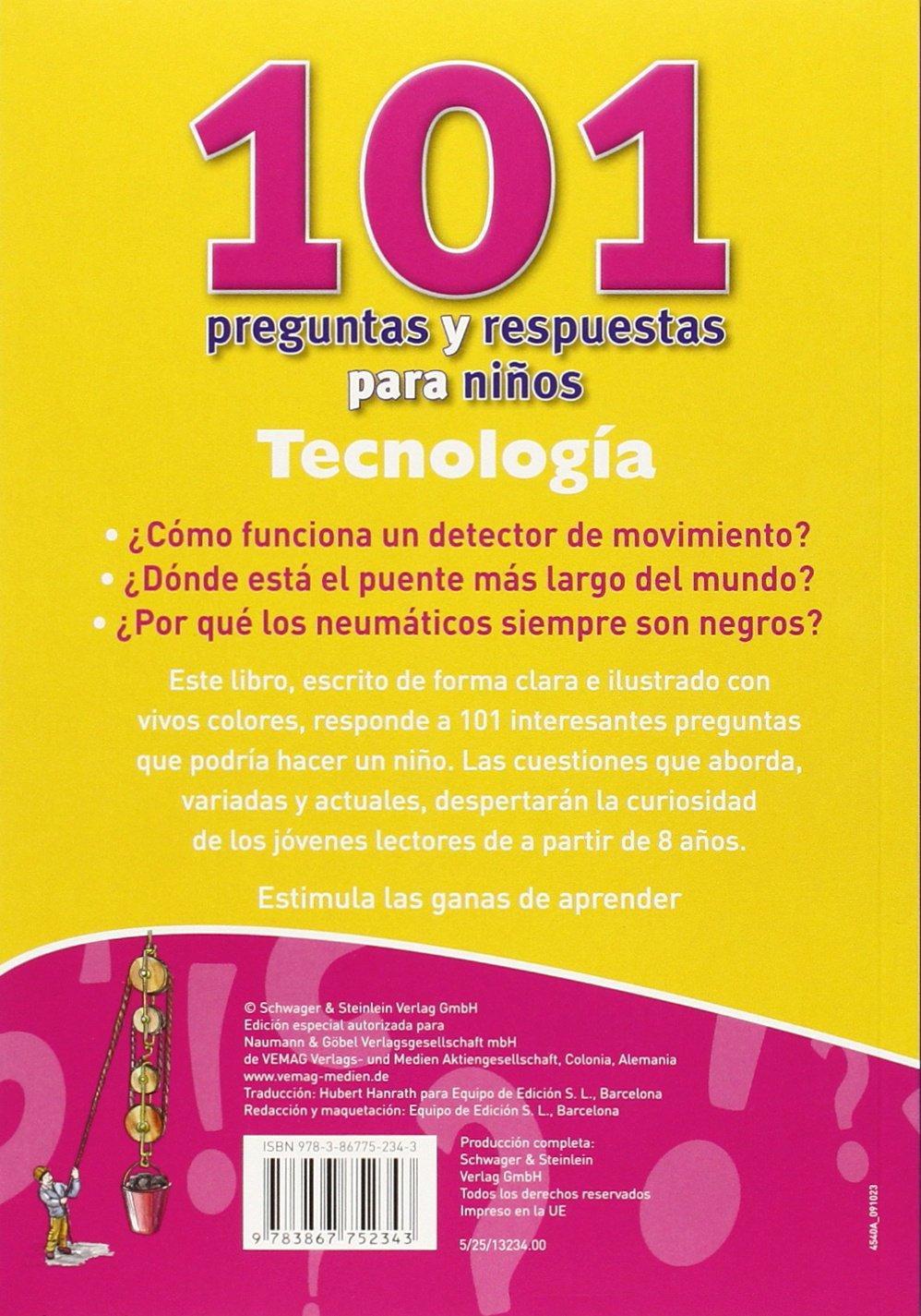 Tecnología. 101 Preguntas Y Respuestas Para Niños: Amazon.es: VV. AA.: Libros
