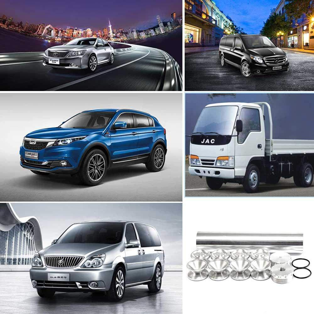 Alliage dAluminium 13Pcs 1//2-28-5//8-24 24003 4003 Filtre /à Essence Automobile pour Usage Automobile Uniquement Goglor Filtre /à Essence pour Voiture