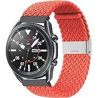 Zoholl Tkany, regulowany, elastyczny pasek wymienny, kompatybilny z Samsung Galaxy 46 mm, Gear S3 Frontier, Garmin…