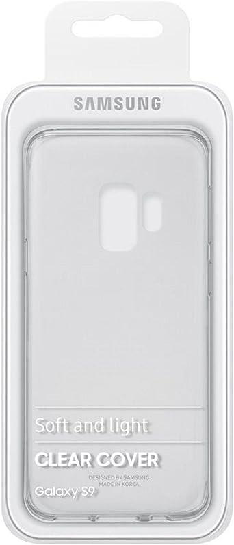 Samsung Clear Cover Ef Qg965 Für Das Galaxy S9 Transparent Elektronik
