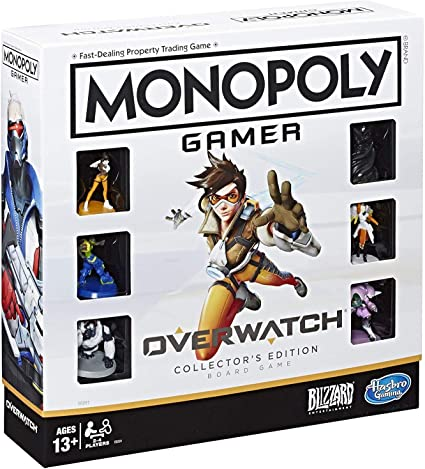 Monopoly Gamer Overwatch Collectors Edition Board Game for Ages 13 and Up Gift for Overwatch Players: Amazon.es: Juguetes y juegos