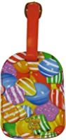 Candy Crush Luggage Tag Close Up Candy