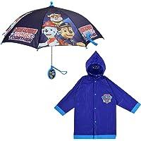Nickelodeon Paw Patrol Slicker and Umbrella Rainwear Set, for Toddler and Little Boys