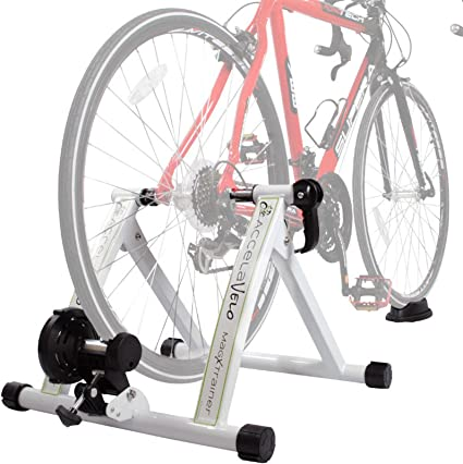 Portable Indoor Exercise Cycling Magnetic Resistance Bicycle Trainer Bike Stand