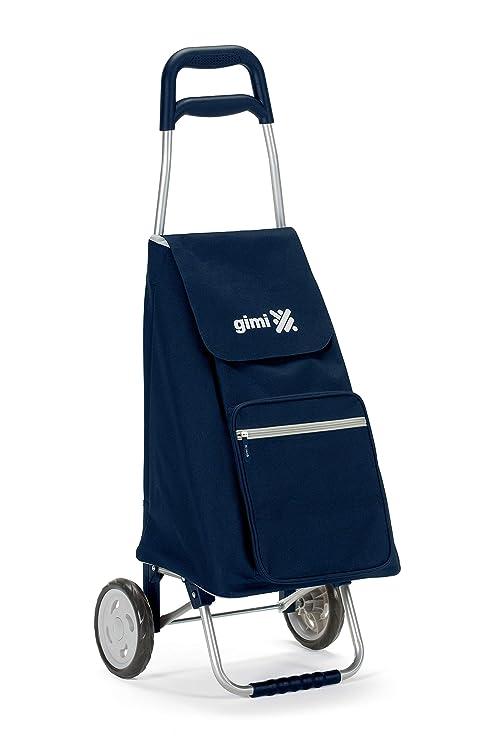 Gimi Argo - Carro de la compra, con 2 ruedas, bolsa impermeable de poliéster