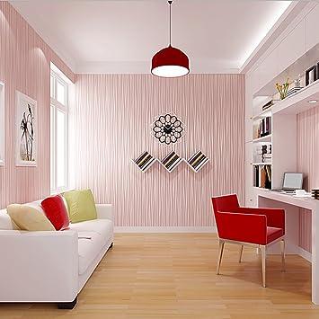 Papier Peint Rayure Intisse Xxl Design Rose Amazon Fr Bricolage
