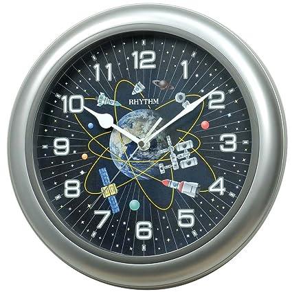 Rhythm(Japan) Silent Silky Move Value Added Wall Clock Ø31.0x4.5cm