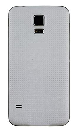 finest selection 1f2a0 40796 GreatQIQI Samsung Galaxy S5 Replacement Back Cover, Plain Housing Battery  Cover for Samsung Galaxy S5 (White)